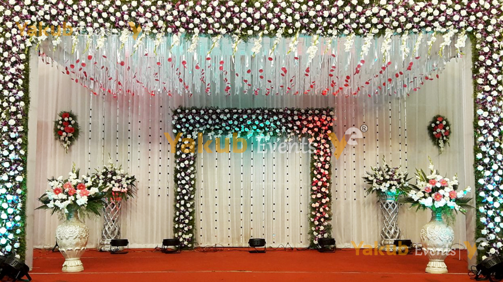 top reception theme decorations