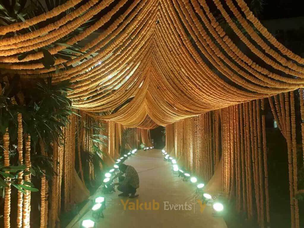 marriage reception decoration